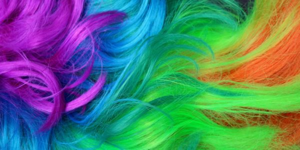 Colorful braids – hairstyle for everyone